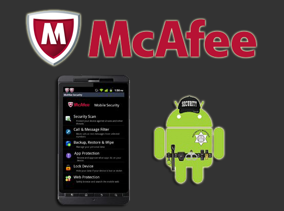 ứng dụng diệt virus McAfee Mobile Security