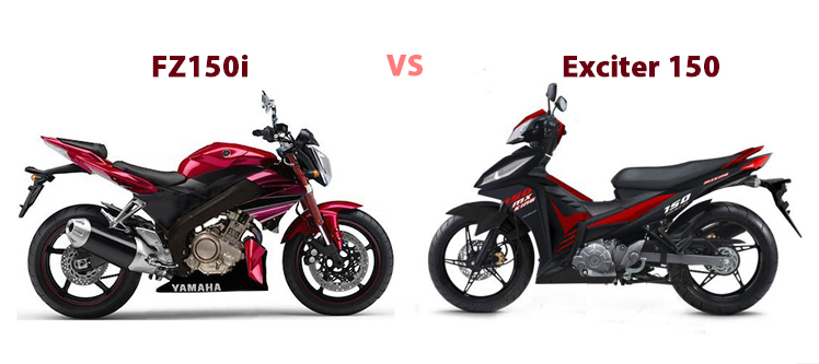 Exciter 150cc vs Yamaha FZ150i