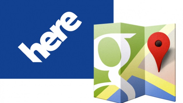 ứng dụng Nokia HERE Maps