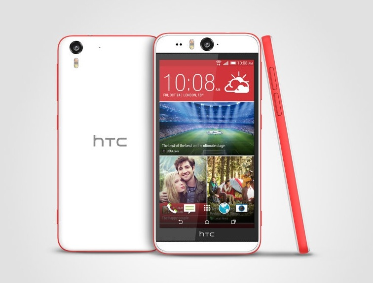 camera của HTC Desire Eye