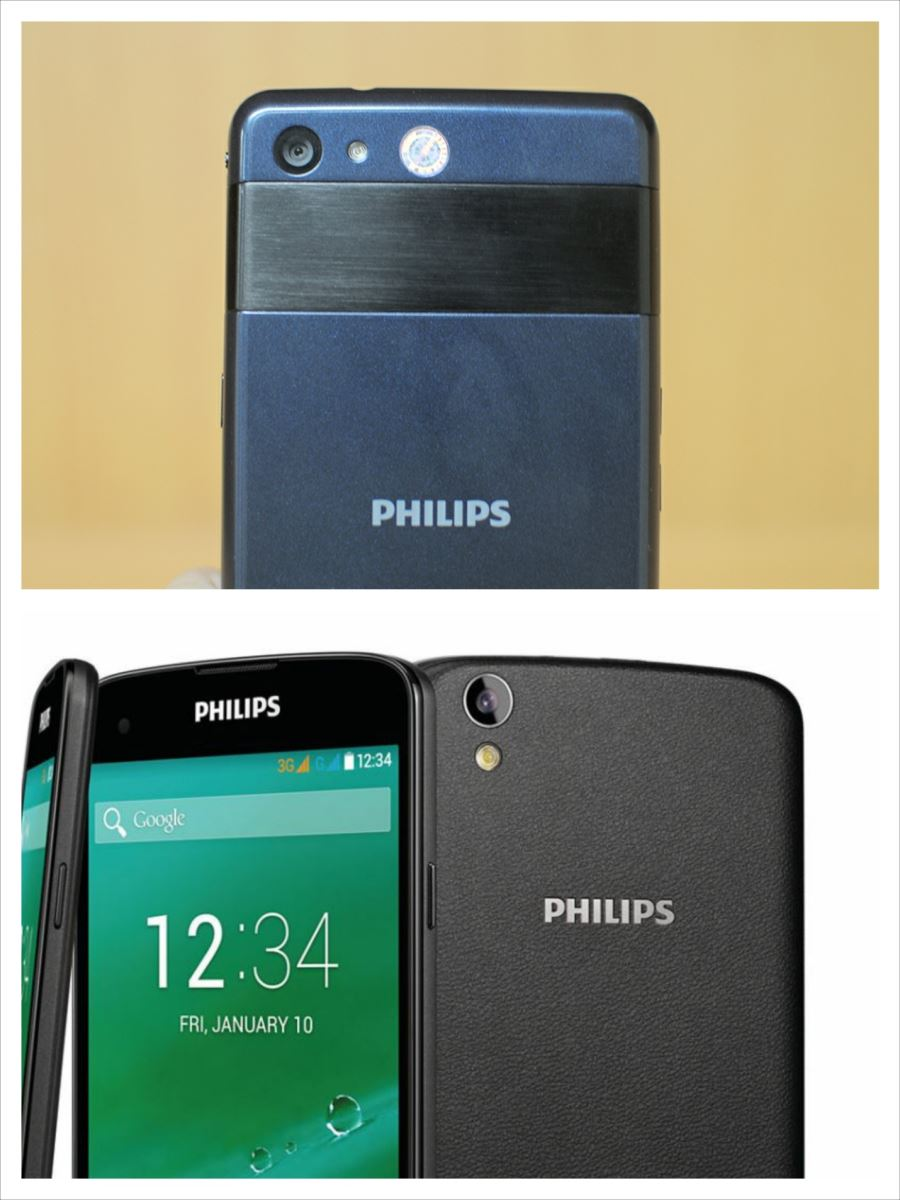 Philips Xenium I908 và Philips Xenium W6610