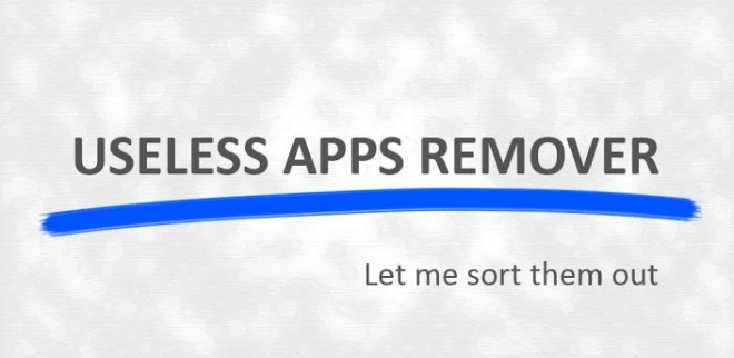 ứng dụng Useless Apps Remover