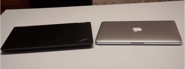 MacBook Pro Retina 13 và Lenovo ThinkPad Yoga 14