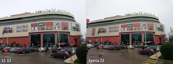 Ảnh chụp từ LG G3 và Xperia Z3