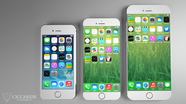 iPhone 5s với iPhone 6