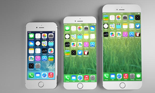 iPhone sẽ có nhiều kích thước màn hình