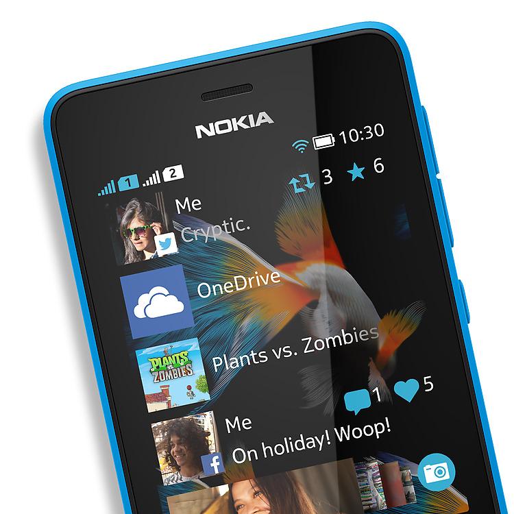 Nokia Asha mới