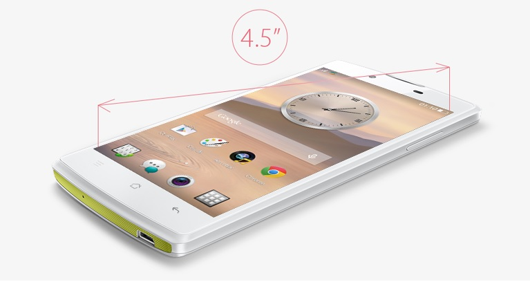 oppo find neo man hinh