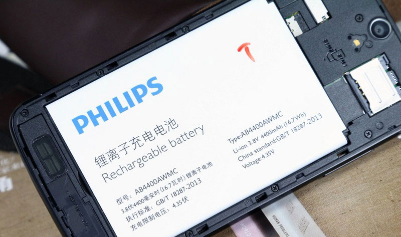 Philips-V387-pin