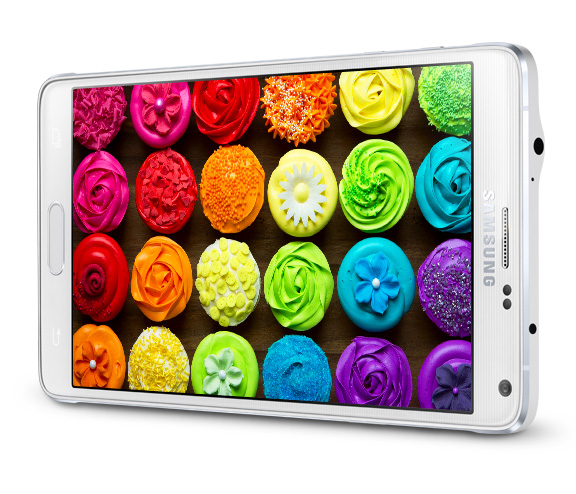 Samsung Galaxy Note 4 man hinh