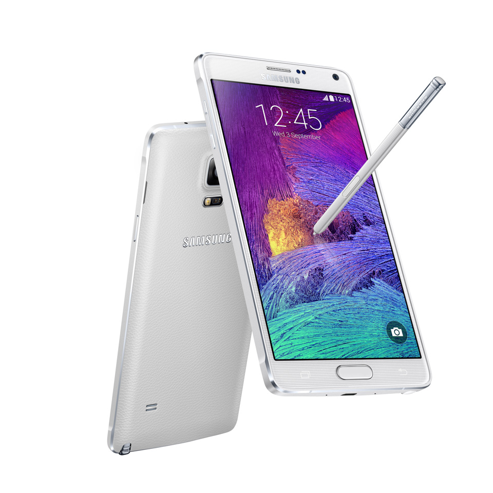 Samsung Galaxy Note 4 thiet ke