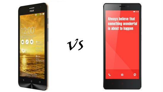 Xiaomi Redmi Note vs Asus Zenfone 5