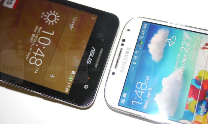 So sánh Asus ZenPhone 5 với Galaxy S4