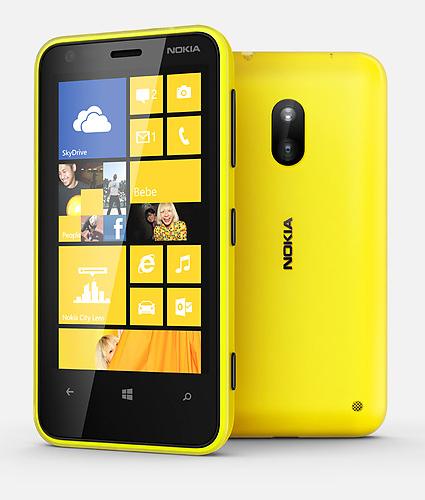 thiết kế của lumia 620