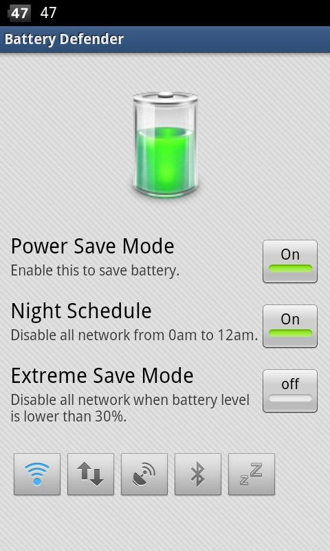 Defender-Battery-Saver-Android