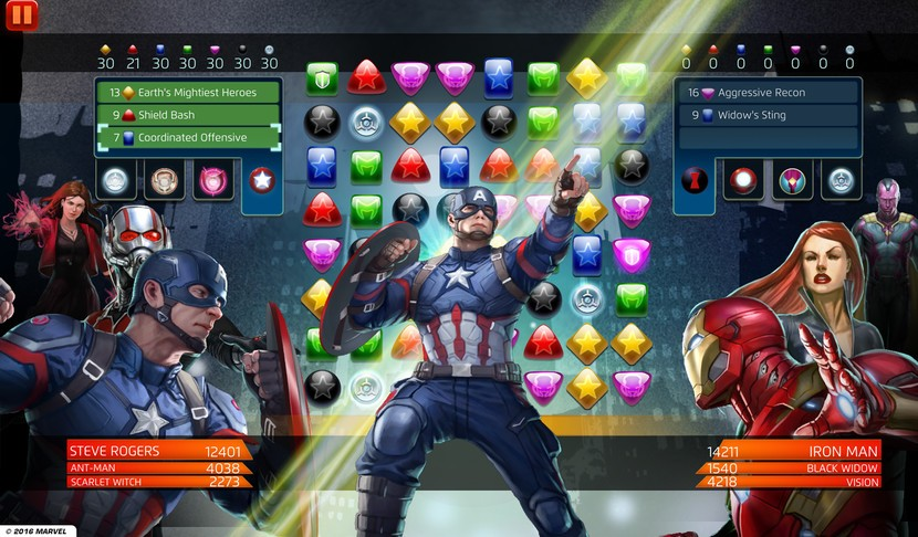 ung dung va game marvel