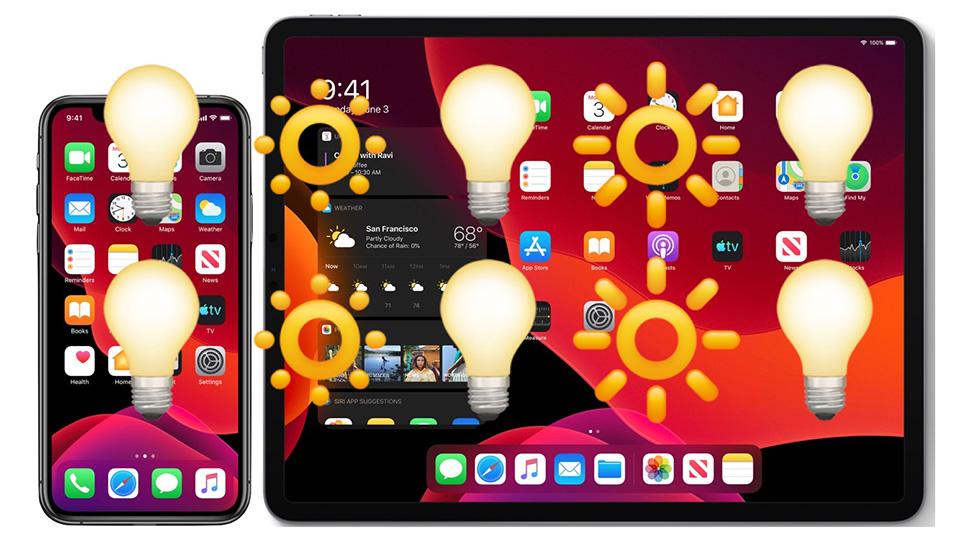 Tắt tự đồng điều chỉnh độ sáng màn hình iPhone và iPad 01