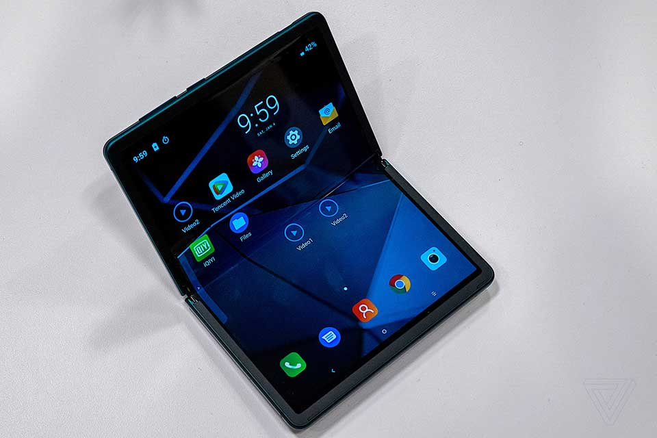 TCL Foldable Smartphone
