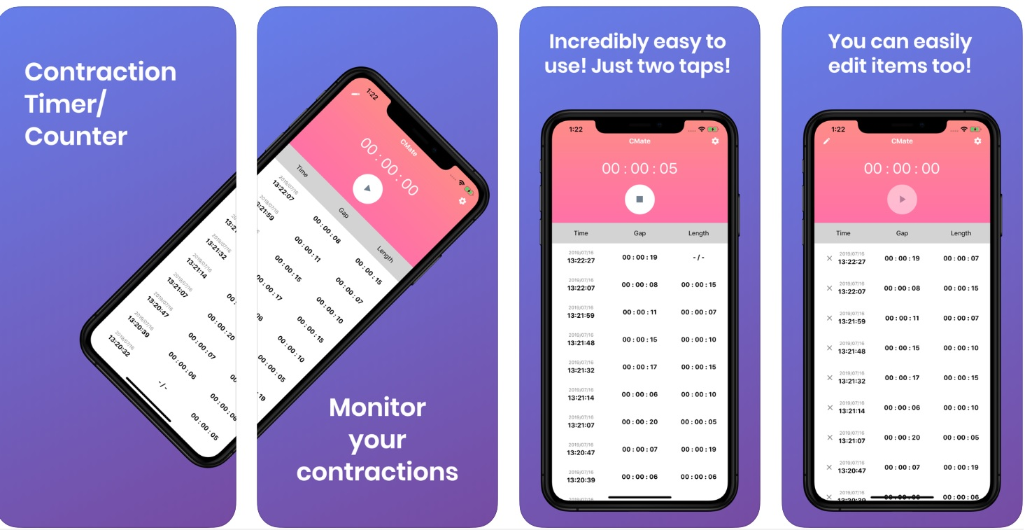 CM: Contraction Timer/Monitor