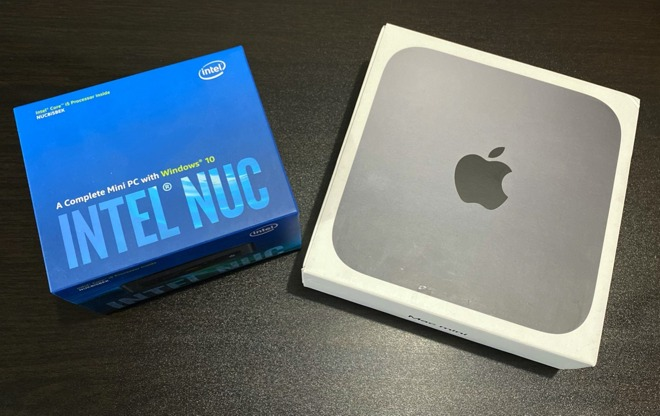 Mac mini vs Intel NUC 01