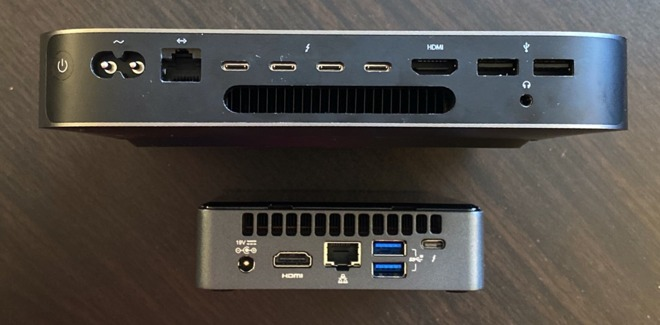 Mac mini vs Intel NUC 04