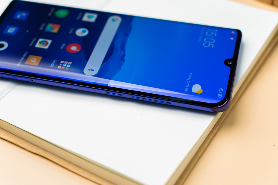 Thiết kế Xiaomi Mi Note 10 Lite