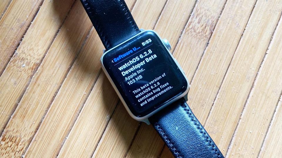 Apple phát hành watchOS 6.2.8 developer beta 1