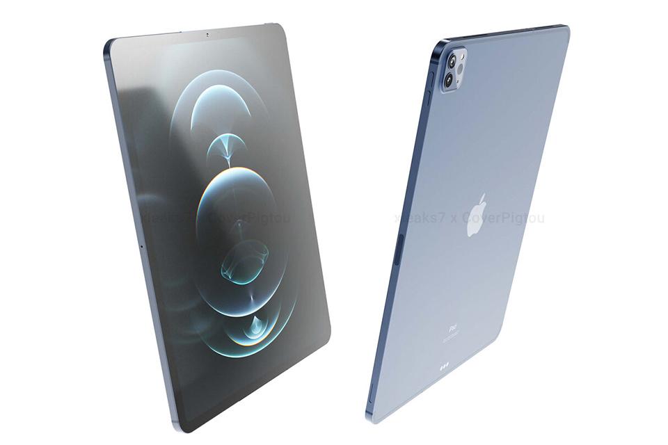 Đây sẽ là thiết kế của dòng iPad Pro 2021 sắp tới ...