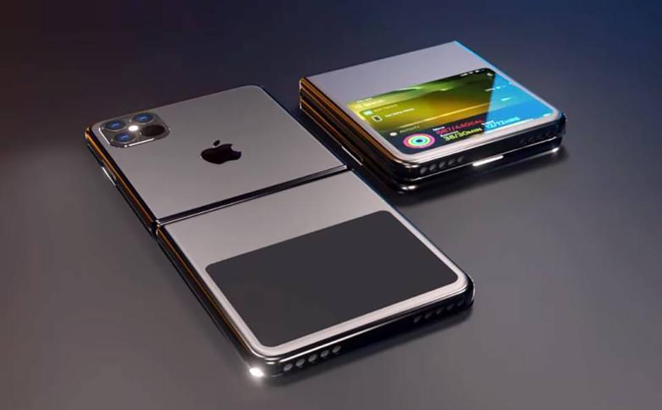 Concept iPhone màn hình gập