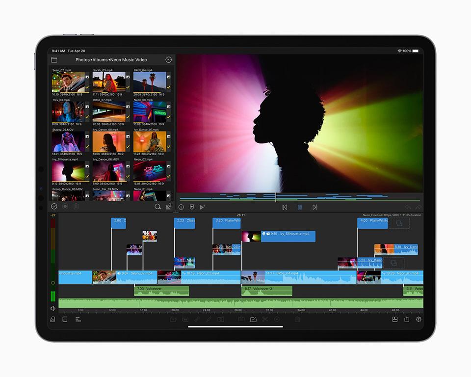 Tính năng iPad Pro 2021 (ảnh 2)