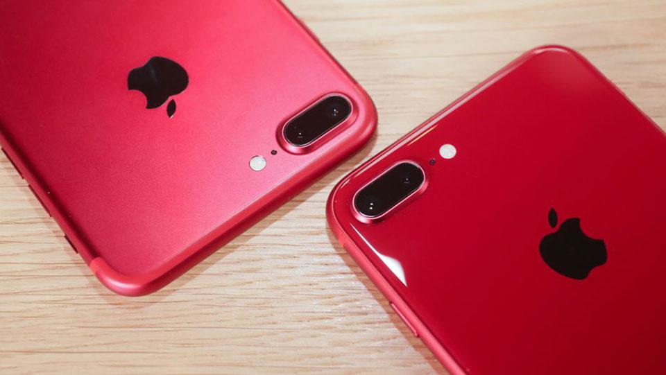 Trên tay iPhone 8 RED và iPhone 8 Plus RED