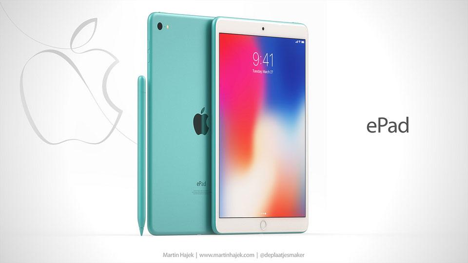 Ý tưởng Apple ePad siêu độc đáo, đẹp mắt, dành cho giáo dục