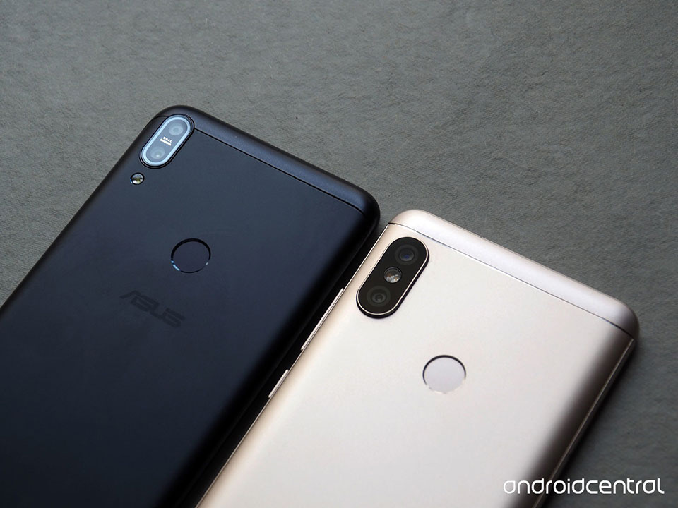 So sánh Redmi Note 5 vs Zenfone Max Pro M1