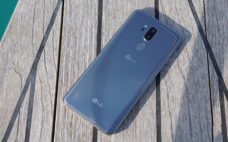 Trên tay LG G7 ThinQ