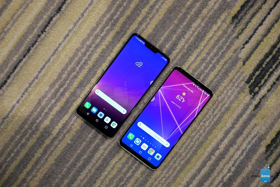 So sánh LG G7 ThinQ vs LG V30: Sự khác biệt là gì? - Fptshop