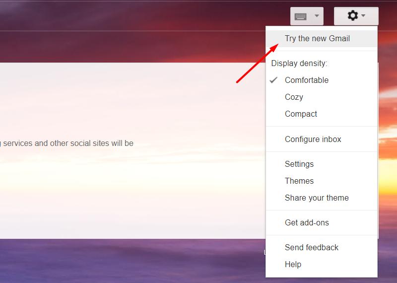 Kích hoạt Gmail mới