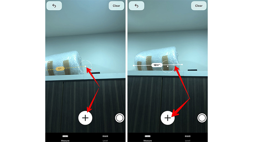 Cách dùng iPhone đo lường chiều dài, khoảng cách trên iOS 12 (Ảnh 4)