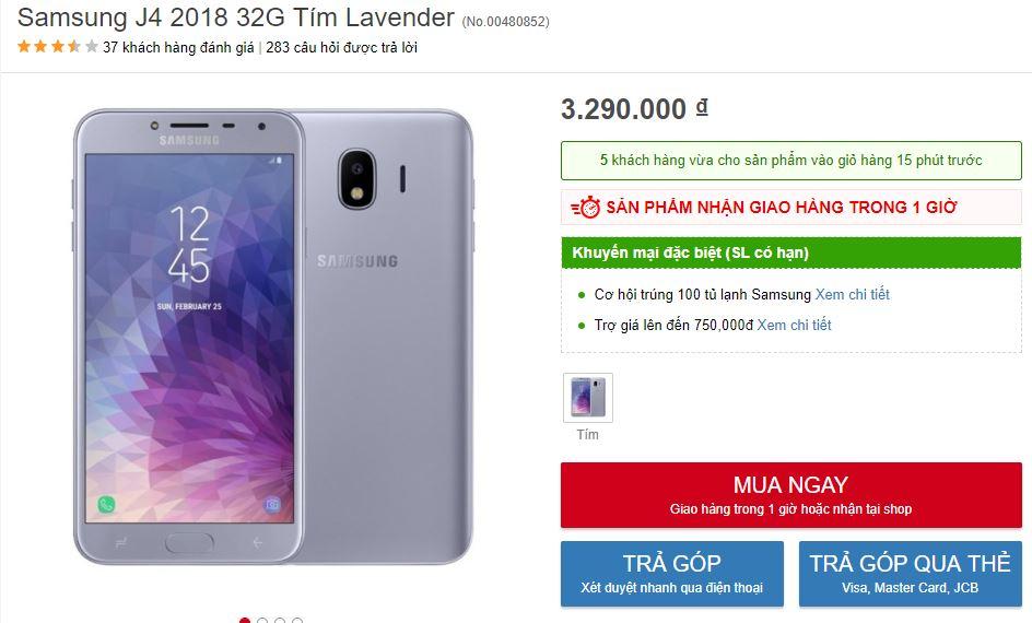 Có dưới 5 triệu, nên mua máy Samsung nào?