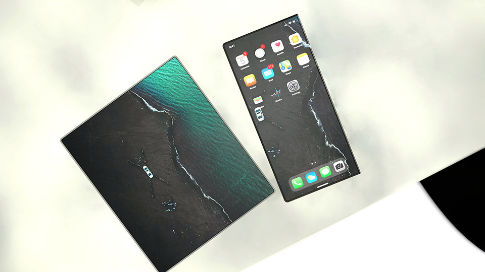 Concept iPhone Fold (ảnh 2)
