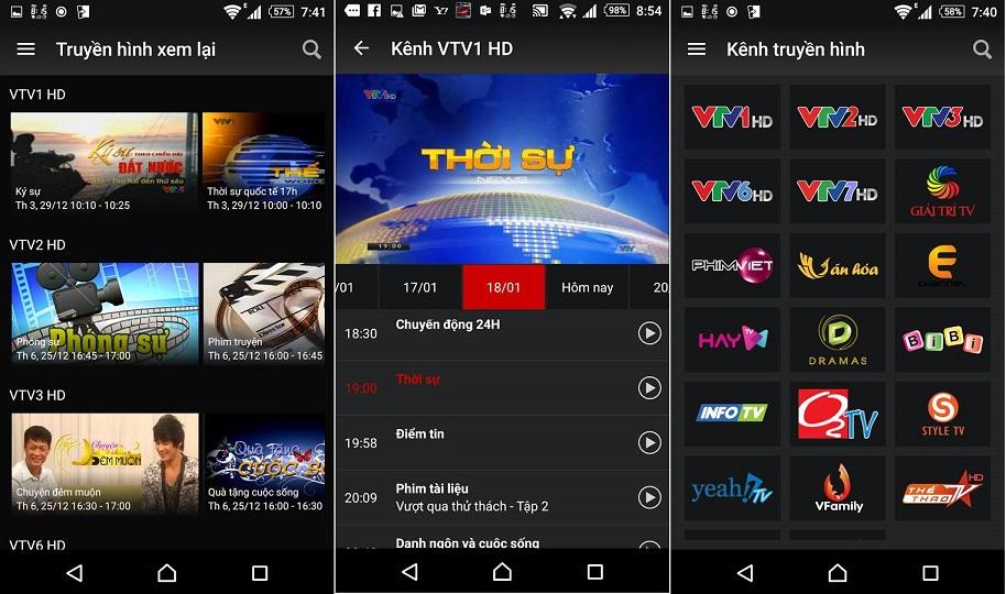 Tổng hợp ứng dụng xem TV online tốt cho Android  3