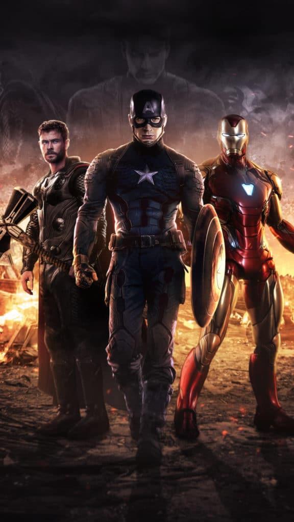 "Hình nền ""bom tấn"" Avenger Endgame cho iPhone, iPad"