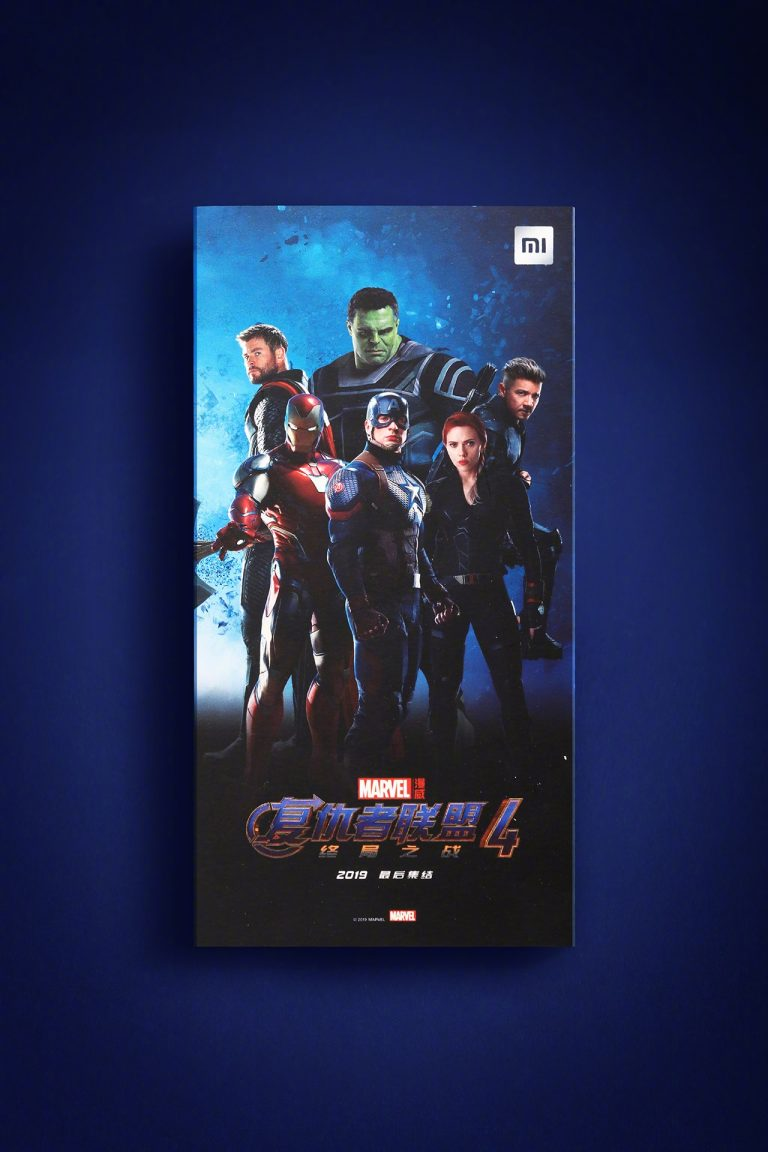 Xiaomi chuẩn bị trình làng Redmi Note 7 Marvel Avengers Limited Edition 2