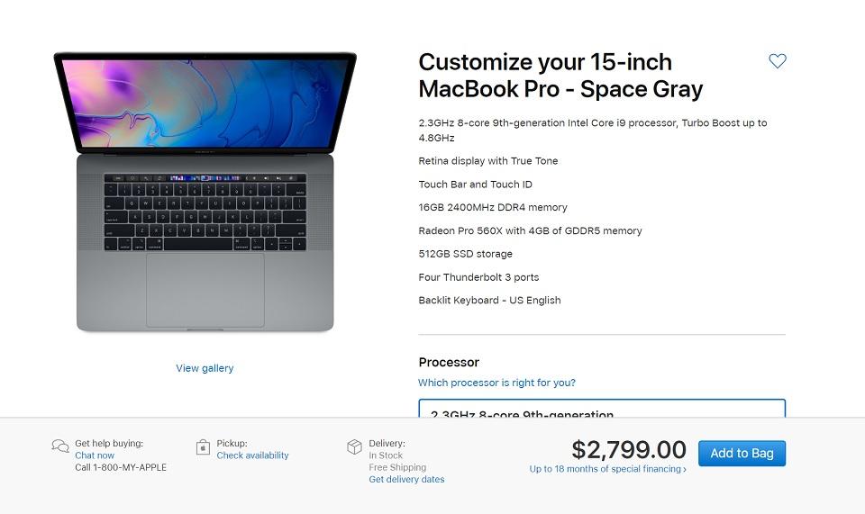 Những thông tin cần biết về MacBook Pro 2019 - Fptshop com vn