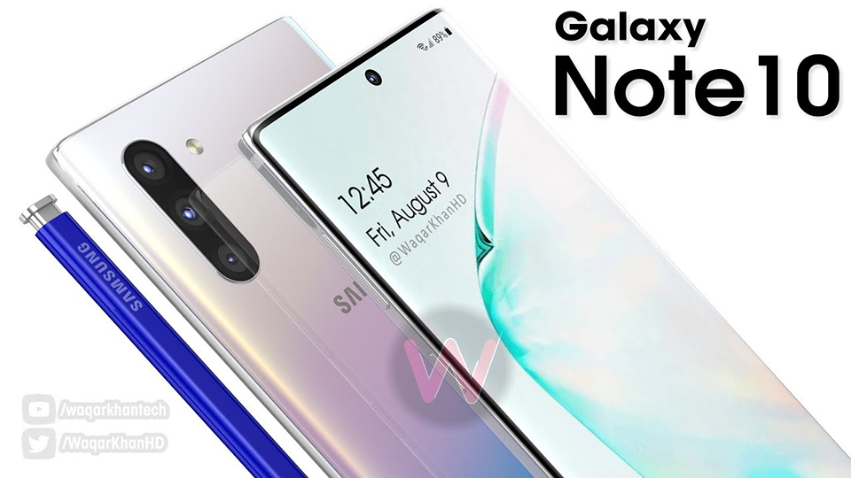 Concept Galaxy Note 10 (ảnh 1)
