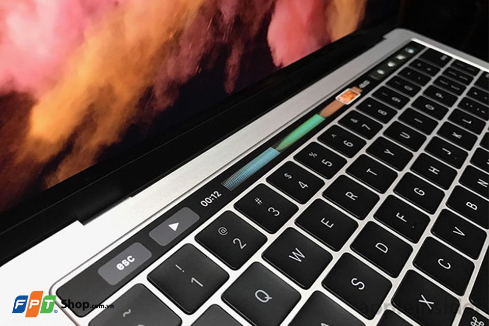 touch baz  Macbook Pro 12 inch 2017