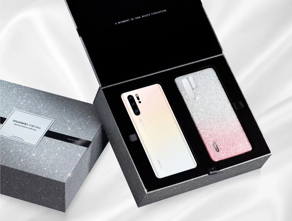 Huawei P30 Pro Limited Edition Pearl White (ảnh 1)